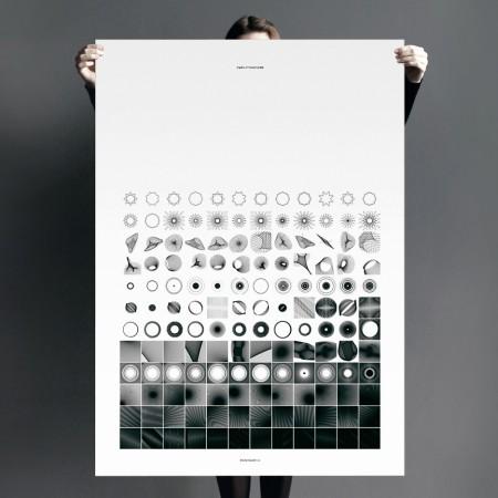 Zwölftonform print